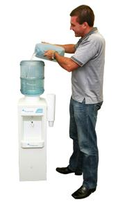 Free standing water filter system | Refillable water coolers