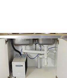 Under Bench Hot Water System Purifier