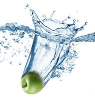 Apple in Fresh water